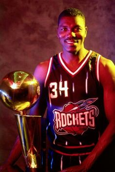 Rockets Basketball, Hakeem Olajuwon, Nba Stars, Houston Rockets, Sports, Movies, Movie Posters, America, Dream Team
