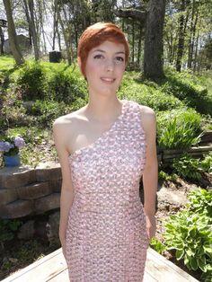 Pop top prom dress -- more than 4000 pop tops!!!