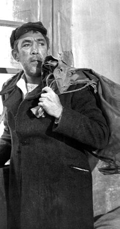 """Zorba The Greek"" Anthony Quinn 1964 / Century Fox Movie Photo, Picture Photo, Greek Fisherman Hat, Alan Bates, Dr Strangelove, Zorba The Greek, Literary Characters, Anthony Quinn, Hollywood"