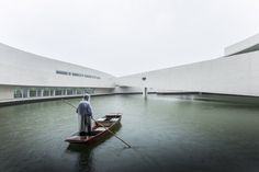 Building on the Water, China by Alvaro Siza Vieira: magical just as the dragon that inspired it...