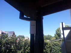 Enlace Inalambrico para cámara IP - Aprovechamiento de la infraestructura de red - Complejo Rincon de Luz - Villa Arcadia