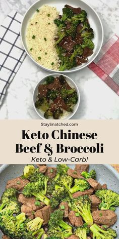 Keto Low Carb Chinese Beef and Broccoli Stir Fry (Paleo + Dairy-Free) Beef Broccoli Stir Fry, Chinese Beef And Broccoli, Steak And Broccoli, Broccoli Recipes, Healthy Beef And Broccoli, Fried Broccoli, Best Low Carb Recipes, Low Carb Dinner Recipes, Keto Dinner