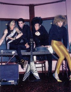 The Cramps ca - from uk mag 'Classic Rock' Abbott And Costello, The Cramps, Power Pop, Gothabilly, New Romantics, The New Wave, Rockn Roll, Psychobilly, Post Punk