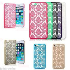 JP Vintage lace printed Rubberized Damask Pattern Matte Case Cover For iPhone 4s