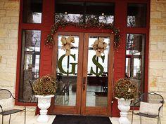 Entrance to Wedding, Guy & Sheri