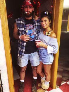 White trash Halloween couples costume
