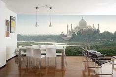 Eazywallz  - Taj Mahal and Yamuna River Wall Mural,(http://www.eazywallz.com/taj-mahal-and-yamuna-river-wall-mural/)