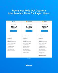 Freelancer Rolls Out Quarterly Membership Plans for Paytm Users Need To Know, Meant To Be, Rolls, How To Plan, Blog, Buns, Bread Rolls, Blogging