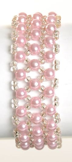 """PRECIOUS"" CORSAGE BRACELET - CHOOSE FROM 11 COLORS"