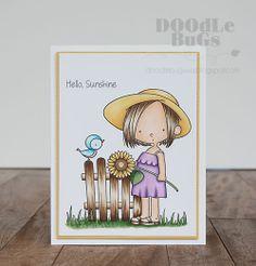 Doodlebugs: Sunflower Sweetheart