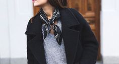 We love bandana's! Check here a great look with the bandana.