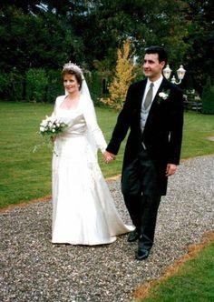 Crown Princess Margarita of Romania and Prince Radu - wedding 1996
