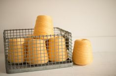 Found Vintage Rentals | color theory YELLOW #yellow #yarn #colortheory #eventdecor #vintagerentals