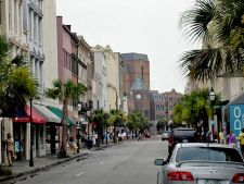 Charleston, SC- awesome restaurants, fun bars, nice beach, lots of friends...it will always be one of my favorite cities!