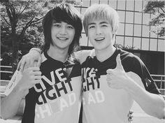 shinee´s Minho and Nichkhun Taemin, Minho, Shinee, Bob 1, Song Daehan, Bias Kpop, Love Park, Choi Min Ho, Taecyeon