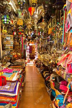 Old Arabic Street Market In Granada, Spain Stock Photo, Picture And Royalty Free Image. Oh The Places You'll Go, Places To Travel, Travel Destinations, Online Travel Sites, Islam, Spain And Portugal, Spain Travel, Summer Travel, Malaga