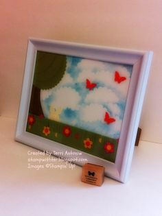 Best Blogs, Scissors, Framed Art, Stampin Up, Hardwood, Butterfly, Group, Create, Water