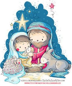 The Nativity by Rachelle Anne Miller, via Flickr