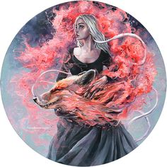 """16k Likes, 221 Comments - Art of Tanya Shatseva (@tanyashatseva) on Instagram: """"DRAGONFOX..Sometimes I believe in as many as six impossible things before breakfast. And make…"""""""