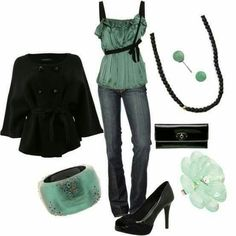 Green Spring Outfit