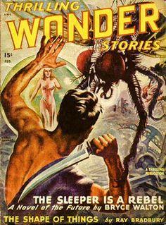 Earle Bergey, Thrilling Wonder Stories 48-02.