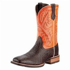 Versatile Ariat cowboy boot for every day wear.