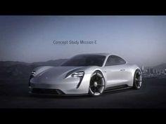 Spectacular All-Electric Porsche Mission E Concept Eyes Tesla Model S