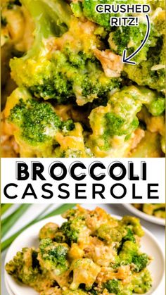 Easy Broccoli Casserole, Slow Cooker Broccoli, Vegetable Casserole, Easy Casserole Recipes, Broccoli Baked In Oven, Recipe With Broccoli, Broccoli With Cheese, Slow Cooker Recipes, Kitchens