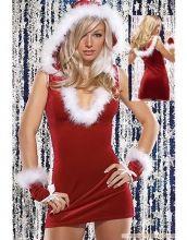 U-neck Mini Dress Christmas Cutie Costume Item No : W8509 Sales Price : US$ 7.55