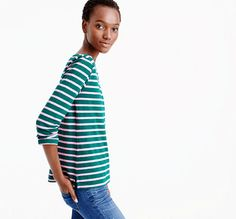 he striped Tee for $29.99