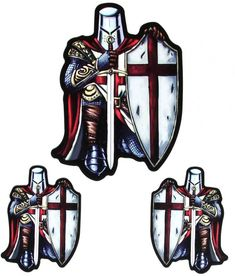 Crusader Knight Patches