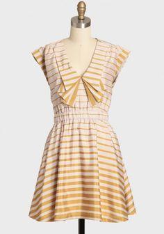 Dresden Striped Dress By Dear Creatures
