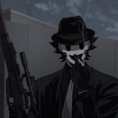 Hot Anime Boy, Cute Anime Guys, Anime Love, Fanarts Anime, Anime Characters, Le Sniper, 8bit Art, Cool Anime Pictures, Masked Man