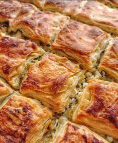 Image may contain: food Turkish Recipes, Greek Recipes, Ethnic Recipes, Pastry Recipes, Cooking Recipes, Brunch, Turkish Kitchen, Good Food, Yummy Food