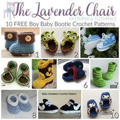 I've found it a lot harder to find patterns for boys baby booties. Whenever I searched baby booties on Pinterest, I'd get about 1 boy booties pattern for every 1,000 girl booties pattern. Luckily I ended up having a girl and didn't have to struggle for these boy patterns. But, eventually all my friends and …