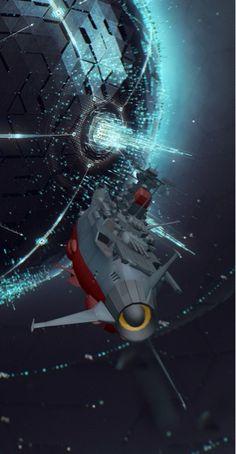 Space Battleship Yamato aka the Argo from Star Blazers