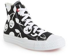 Converse Chuck Taylor® Cherry Print High Top Sneaker (Women)