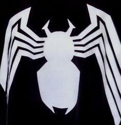 2XL Black Marvel Venom Logo T Shirt Tee. XXL Spider-man's Greatest Foe!