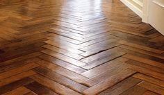 Antique French oak floors
