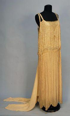 Evening Dress Edward Molyneux, 1920s Whitaker Auctions