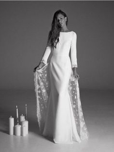 Wedding Dress : Collection Rime Arodaky 2017 // Long Sleeve Wedding Dress