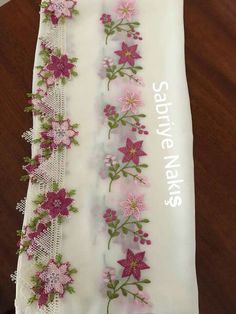 Embroidery Suits Design, Embroidery Motifs, Embroidery Designs, Needle Lace, Pakistani Dresses, Floral Tie, Elsa, Origami, Fall Winter