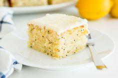 Lemon Poppy Seed Buttermilk Cake | www.bakingfortwo.co