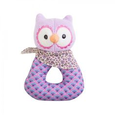Organically Baby - Patterned Owl Rattle Ring from Apple Park Organics, $21.95 (http://www.organicallybaby.com/patterned-owl-rattle-ring-from-apple-park-organics/)