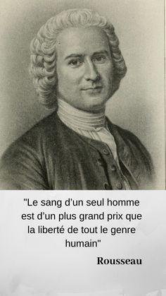 Rousseau a la violence en horreur. Mais tous les philosophes dont les hommes de la Révolution se réclameront auraient sans doute désavoué le tournant qu'elle prendra sous la Terreur. #Rousseau #peuple #violence #Terreur #Révolution #Lumières #philo #philosophie #histoire #histoiredeFrance #citations #citation