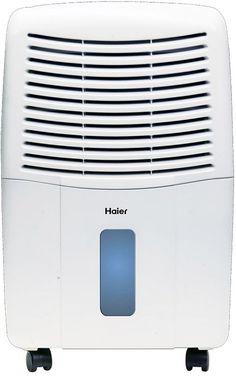 Haier - 65-Pint Portable Dehumidifier - White