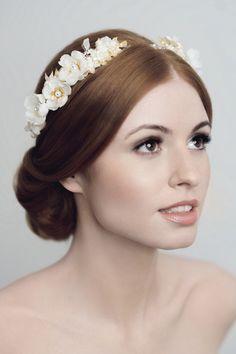 Such a romantic bridal look!