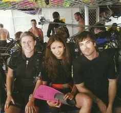 Nian when they were still together. I believe this was one of their first vacations as a couple.