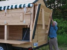 Eliot Coleman's mobile produce stand, ( Let's take it on the road Lark!)  ~ Sounds like a Plan @KD Eustaquio Turley!