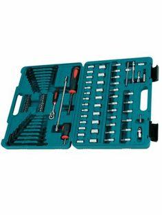 Makita 91pc Service Engineer Bit Set - P-46470 - http://www.hall-fast.com/-hand-tools/drill-bits-holesaws/drill-sets-mixed-bit-set/makita-sets/makita-91pc-service-engineer-bit-set/